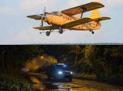 Légi és földi szúnyoggyérítés lesz augusztus 18-án