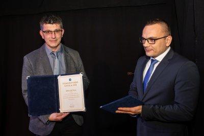 Árki Attila kapta a Somogyváry Gyula díjat a Magyar Kultúra Napján